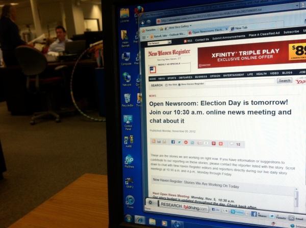 Live Blogging: A staple of 21st-century journalism